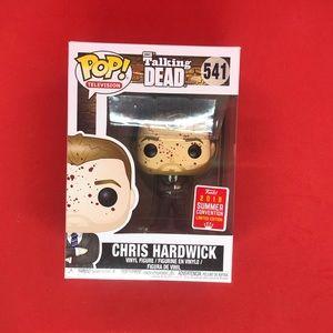 Funko POP! Chris Hardwick #541 Bloody SDCC 2018